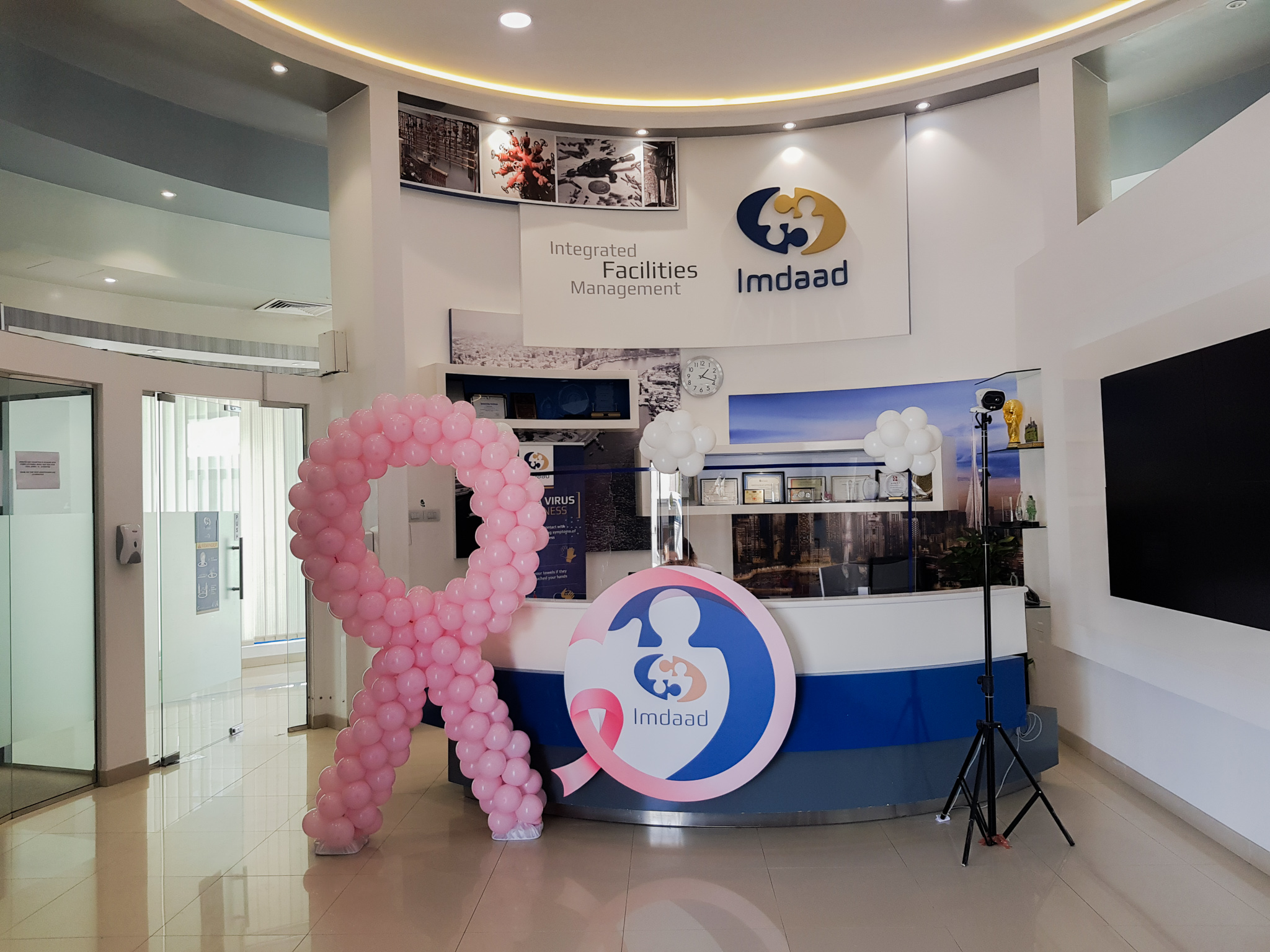 Breast Cancer Awareness Webinar and Checkup Programme by Imdaad