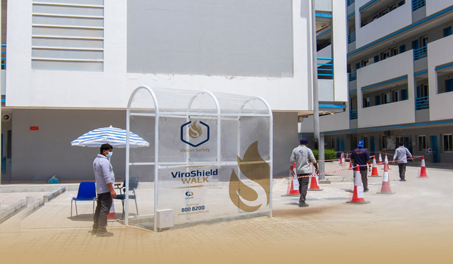 Imdaad launches 'ViroShield by Vision Safety' disinfection tunnel